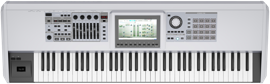 A Modern Electronic Keyboard used in the Keyboard Tuition.
